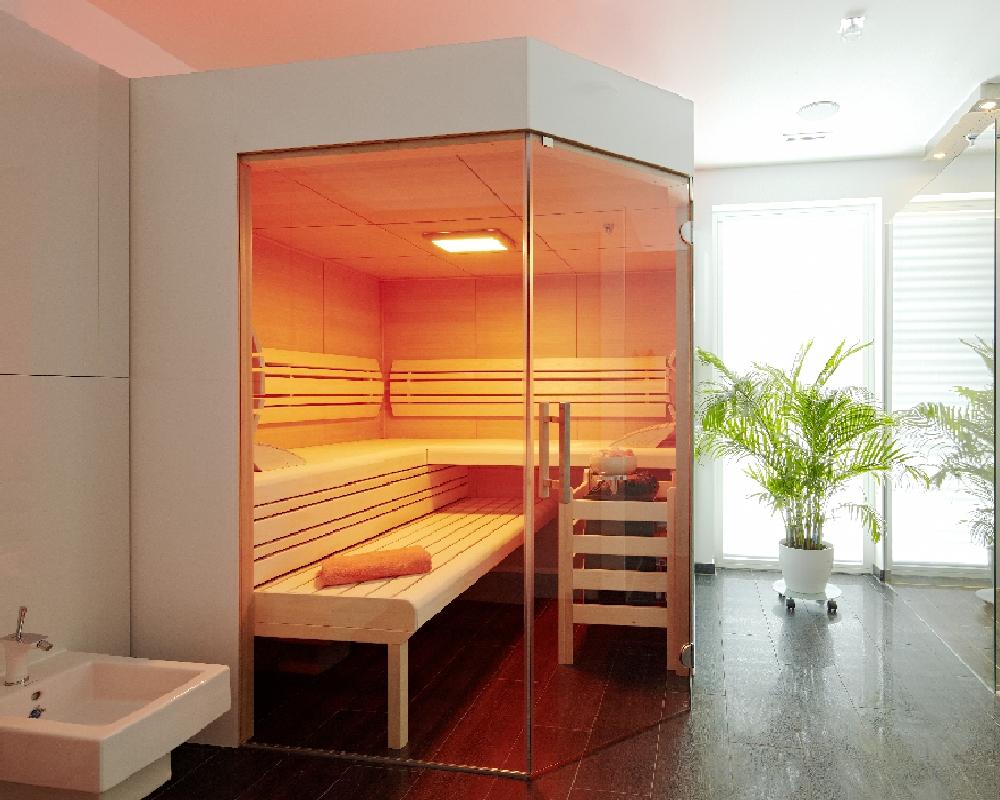 Awesome Kleine Sauna Fürs Bad Photos - Erstaunliche Ideen ...