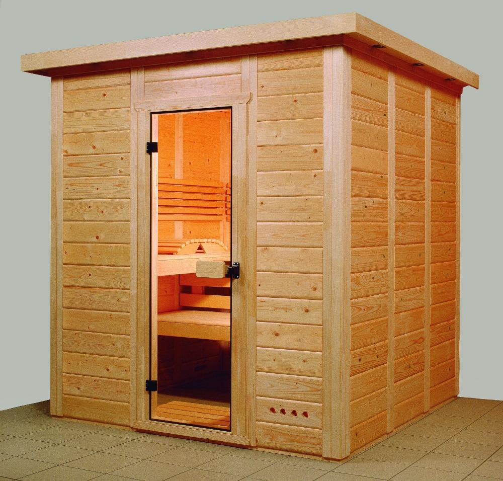Sauna Kassette 4 Eck zu
