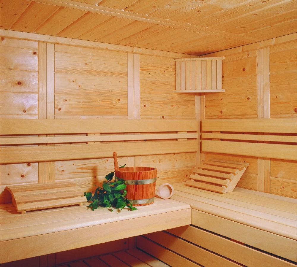 Sauna Kassette innen